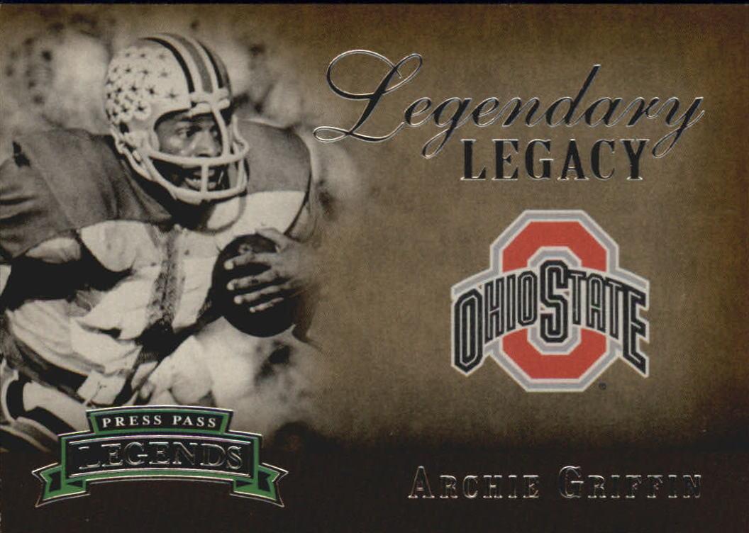 2007 Press Pass Legends Legendary Legacy #14 Archie Griffin
