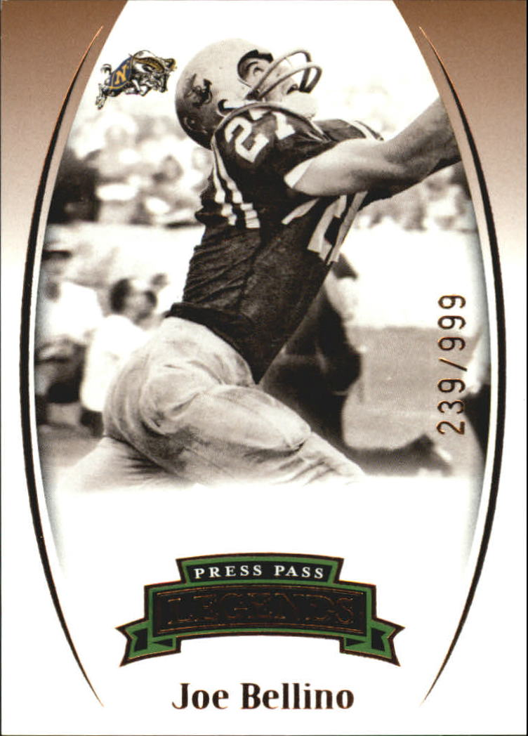 2007 Press Pass Legends Bronze #80 Joe Bellino