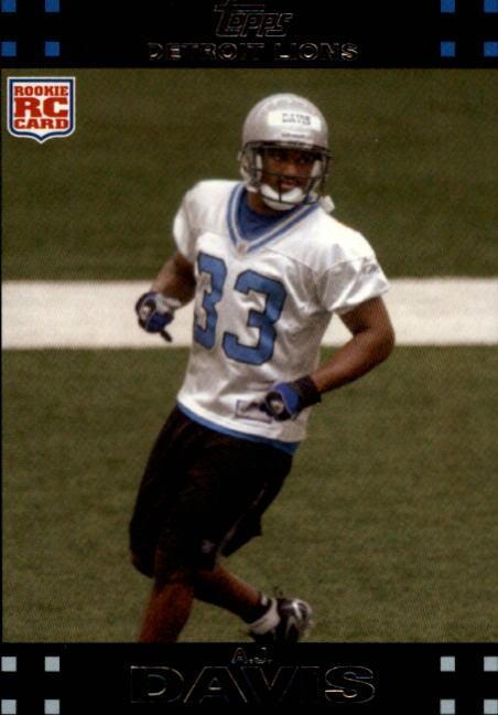 2007 Topps #383 A.J. Davis RC