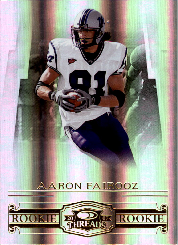 2007 Donruss Threads #209 Aaron Fairooz RC