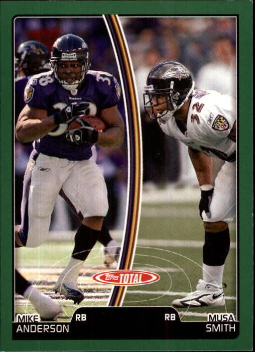 2007 Topps Total #13 Musa Smith/Mike Anderson