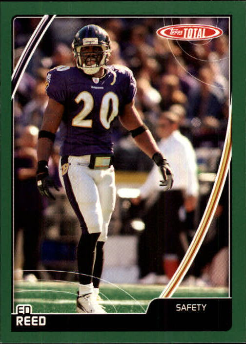 2007 Topps Total #17 Ed Reed