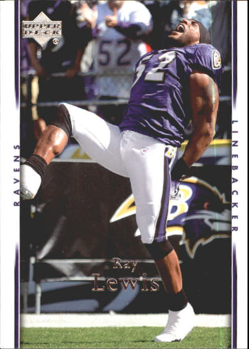 2007 Upper Deck #17 Ray Lewis