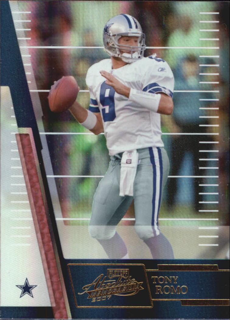 2007 Absolute Memorabilia #1 Tony Romo