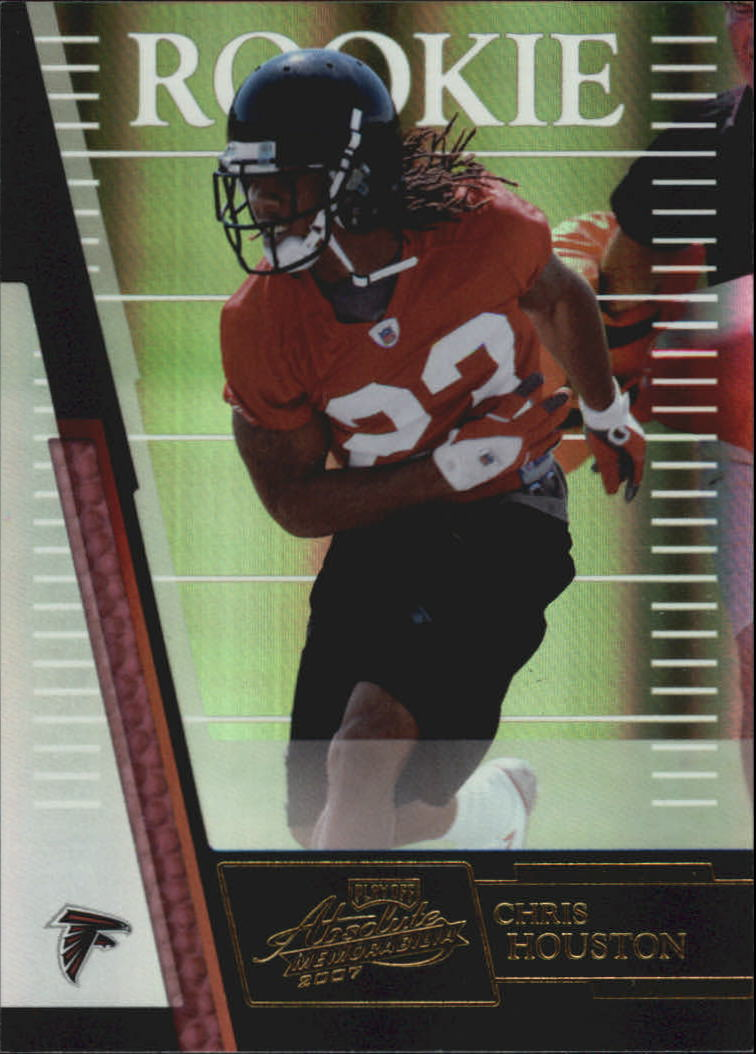 2007 Absolute Memorabilia #158 Chris Houston RC
