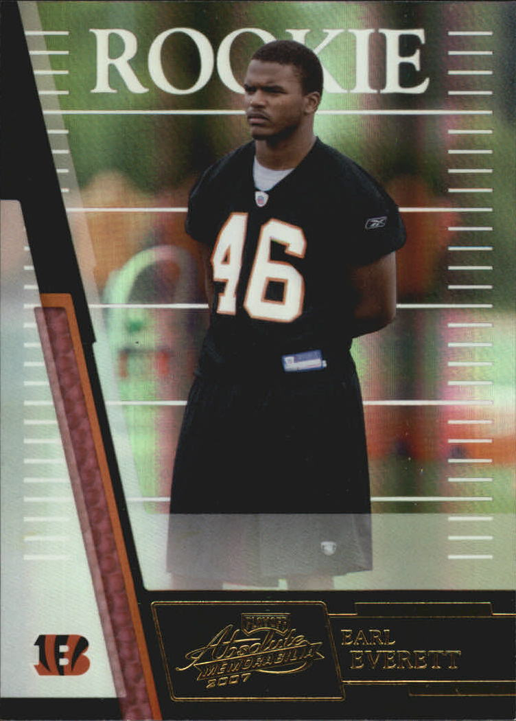 2007 Absolute Memorabilia #165 Earl Everett RC