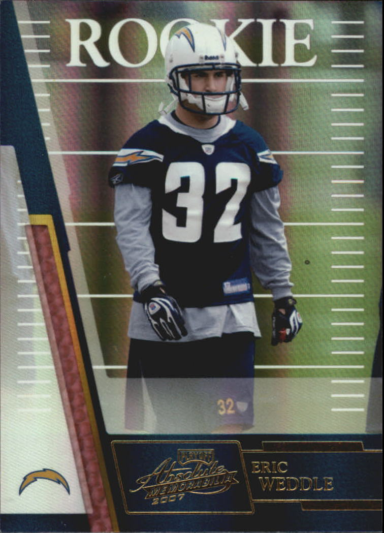 2007 Absolute Memorabilia #167 Eric Weddle RC