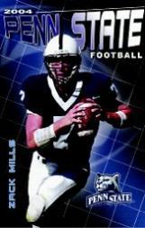 2004 Penn State Schedules #5 Zack Mills