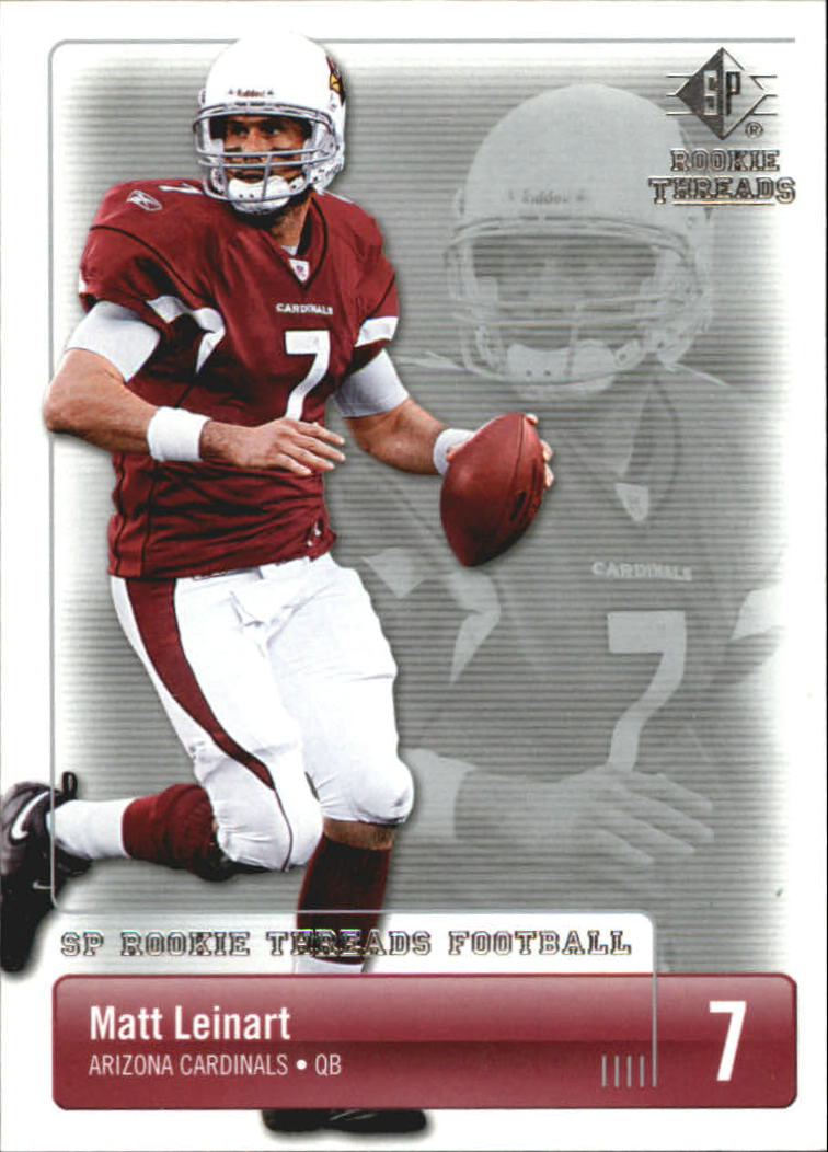 2007 SP Rookie Threads #1 Matt Leinart