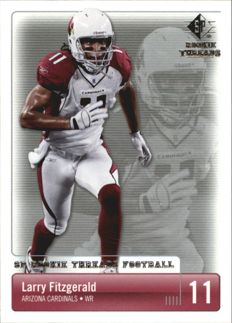 2007 SP Rookie Threads #3 Larry Fitzgerald
