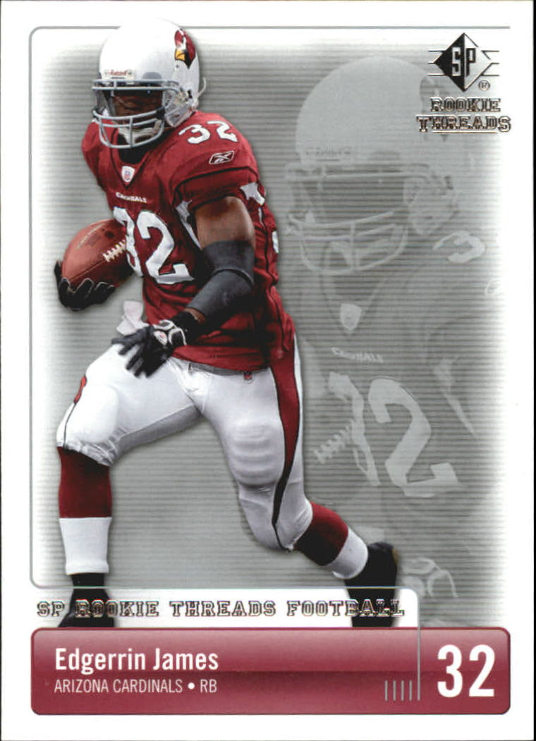 2007 SP Rookie Threads #4 Edgerrin James