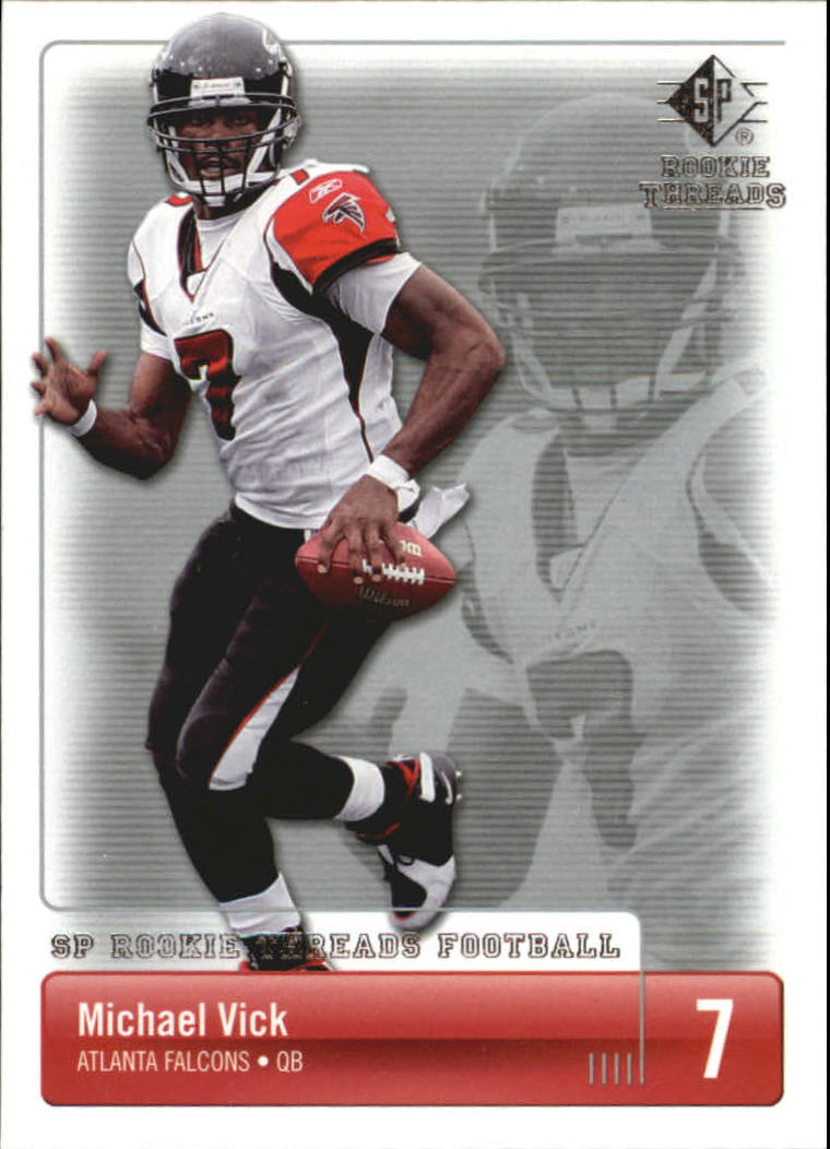 2007 SP Rookie Threads #5 Michael Vick