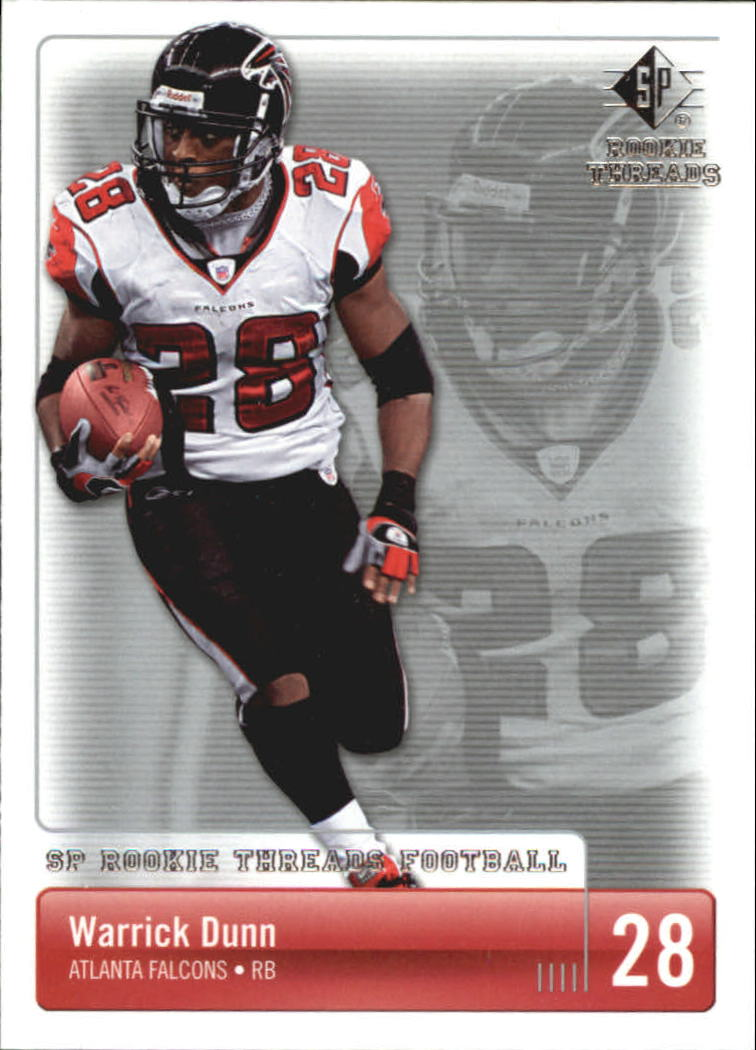 2007 SP Rookie Threads #6 Warrick Dunn