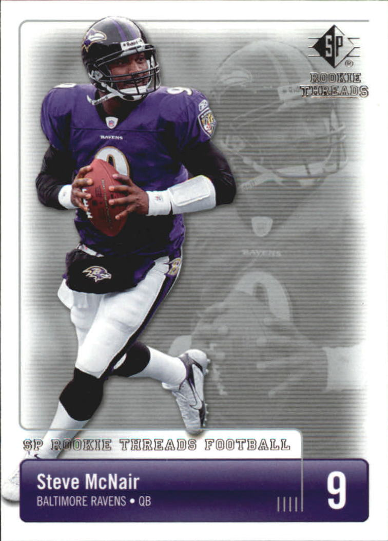 2007 SP Rookie Threads #8 Steve McNair