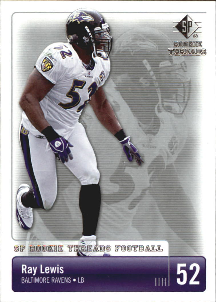 2007 SP Rookie Threads #10 Ray Lewis