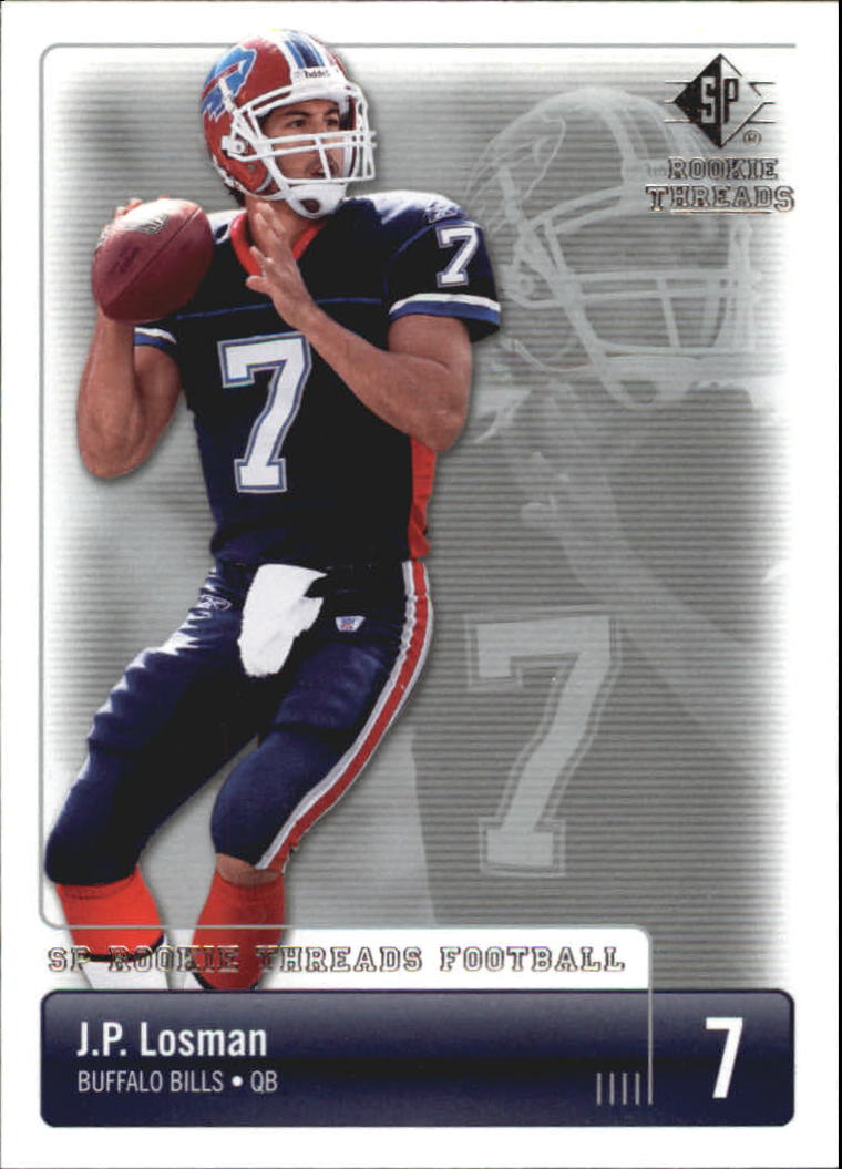2007 SP Rookie Threads #11 J.P. Losman