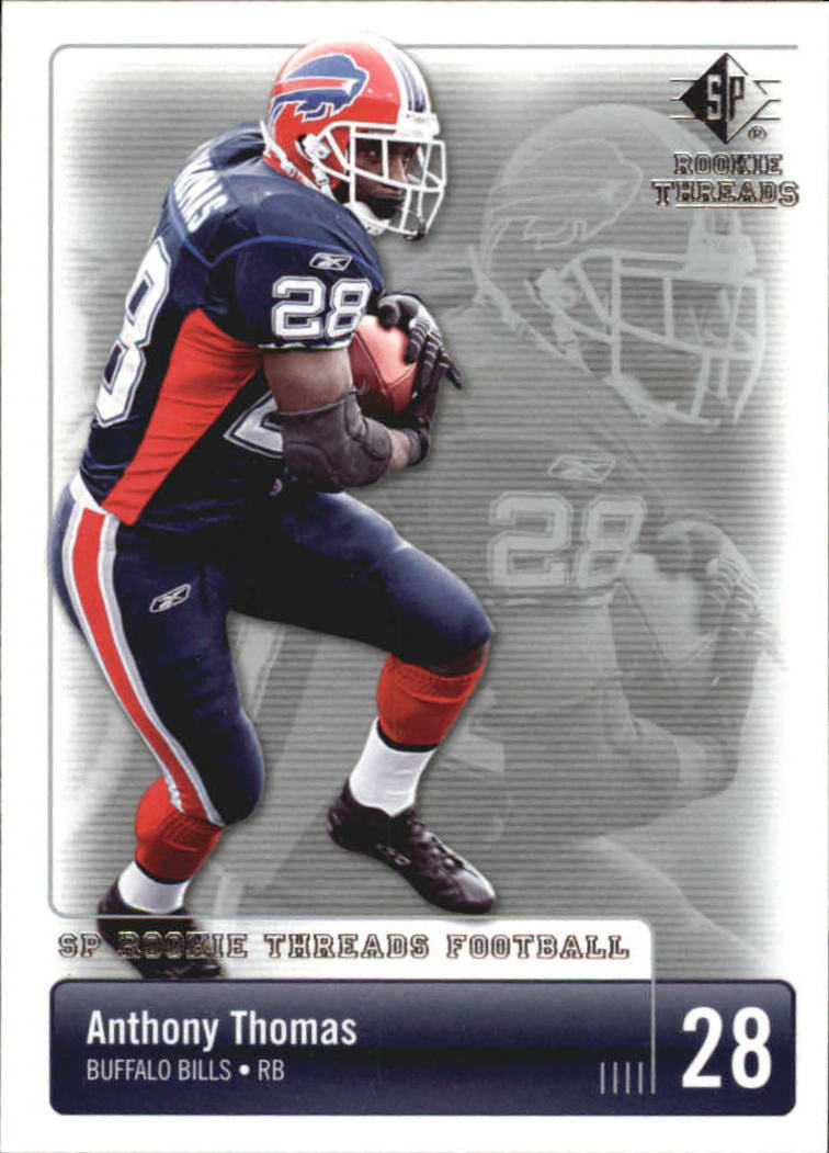 2007 SP Rookie Threads #13 Anthony Thomas