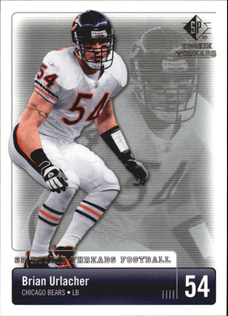 2007 SP Rookie Threads #17 Brian Urlacher