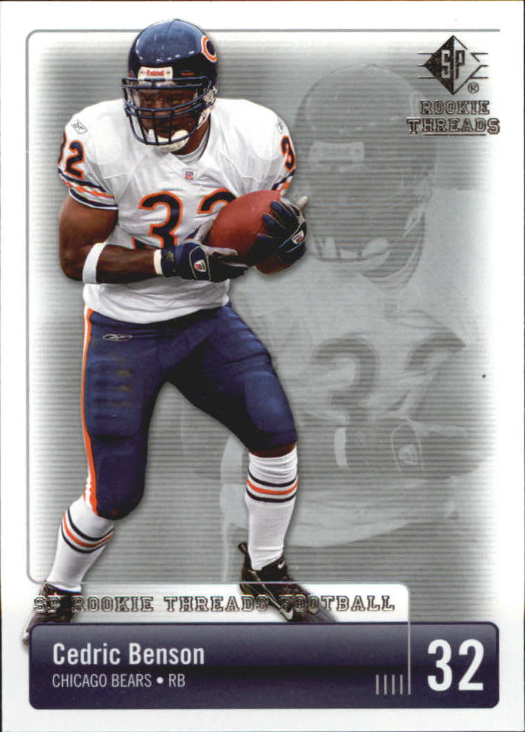 2007 SP Rookie Threads #18 Cedric Benson