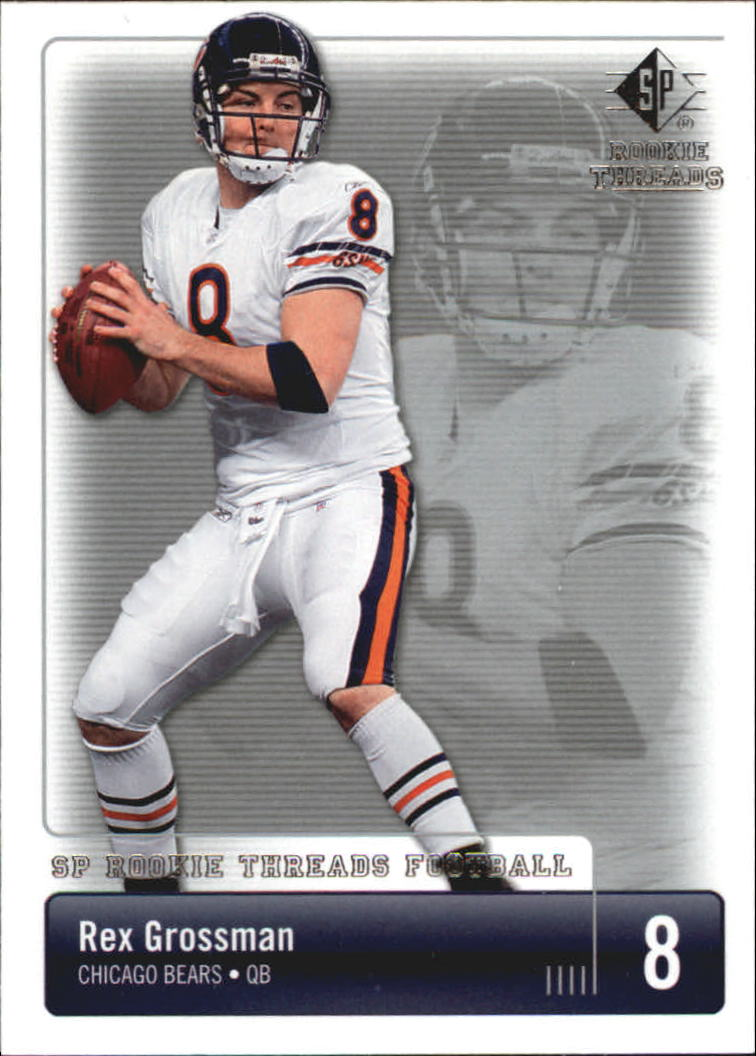 2007 SP Rookie Threads #19 Rex Grossman