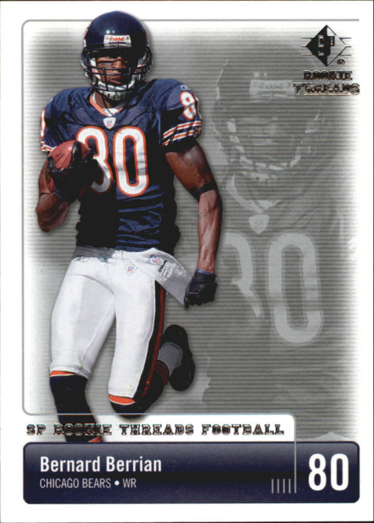 2007 SP Rookie Threads #20 Bernard Berrian