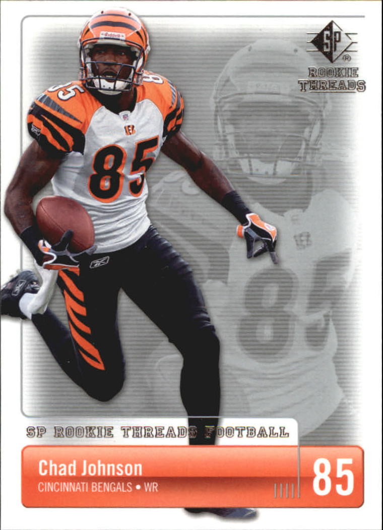2007 SP Rookie Threads #21 Chad Johnson