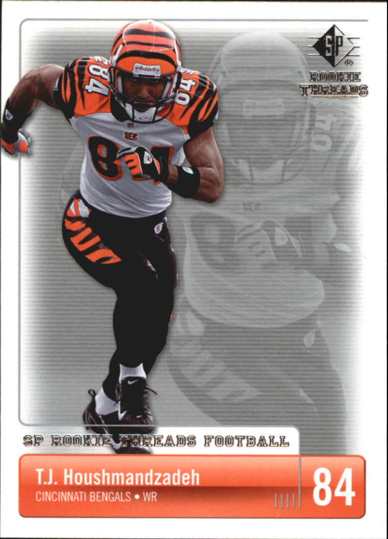 2007 SP Rookie Threads #24 T.J. Houshmandzadeh
