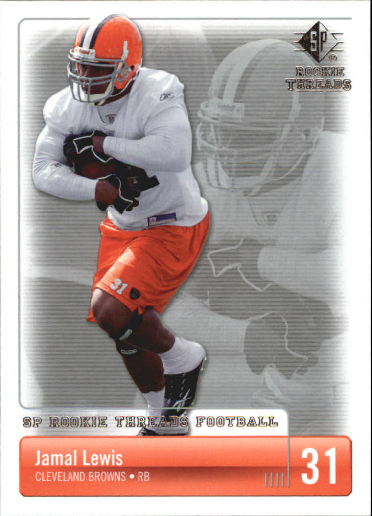 2007 SP Rookie Threads #25 Jamal Lewis
