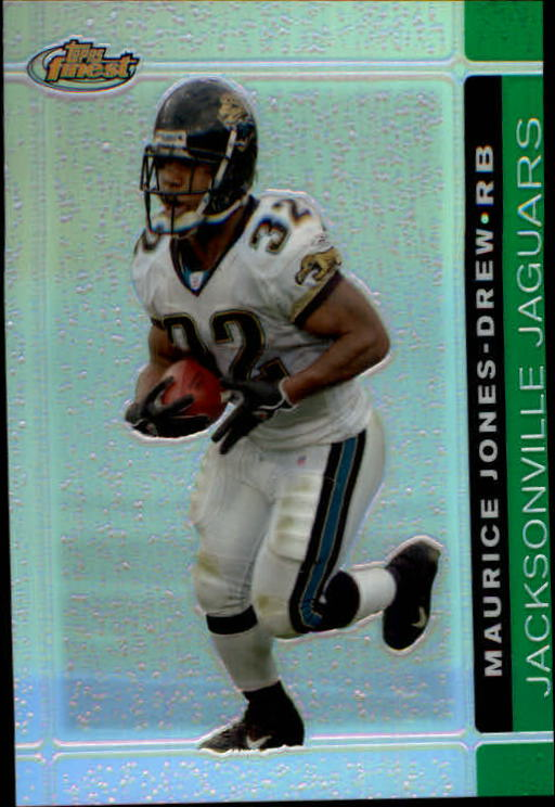 2007 Finest Green Refractors #40 Maurice Jones-Drew
