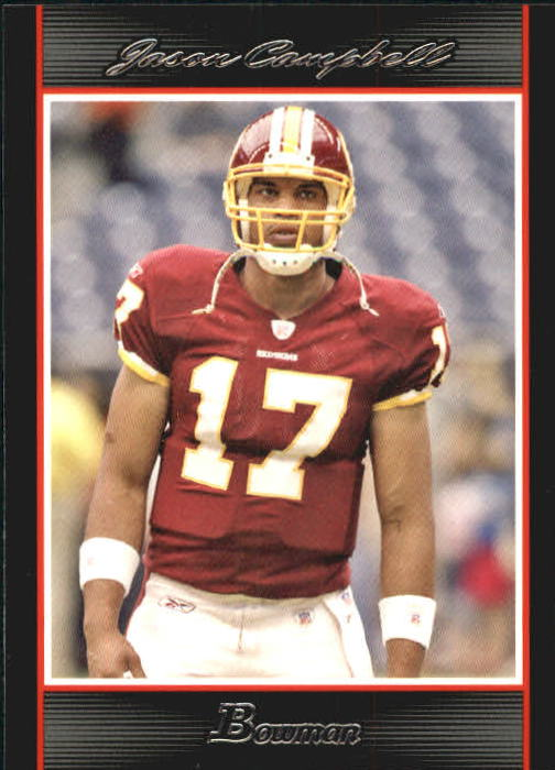 2007 Bowman #3 Jason Campbell