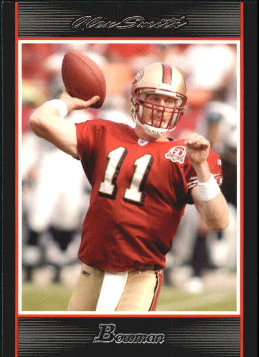 2007 Bowman #21 Alex Smith QB