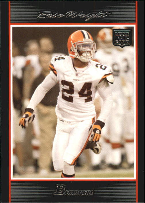 2007 Bowman #207 Eric Wright RC