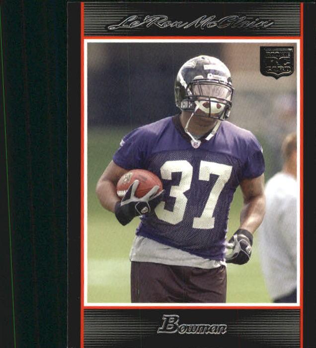2007 Bowman #226 Le'Ron McClain RC
