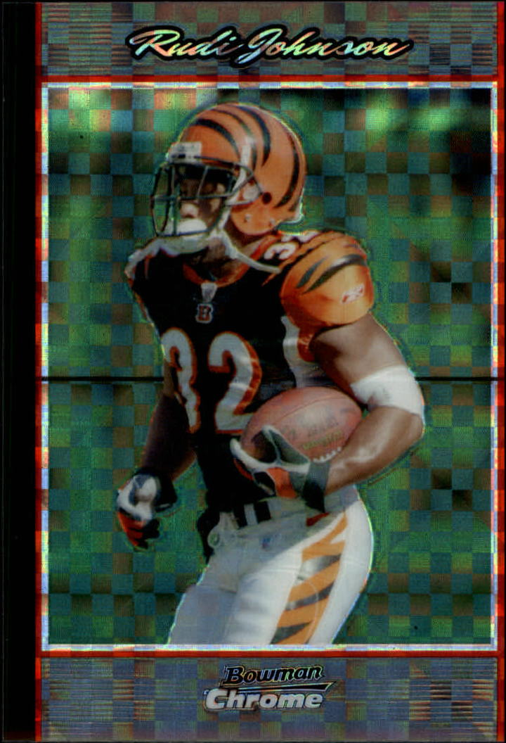 2007 Bowman Chrome Xfractors #BC127 Rudi Johnson