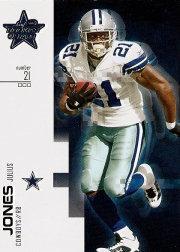 2007 Leaf Rookies and Stars #2 Julius Jones