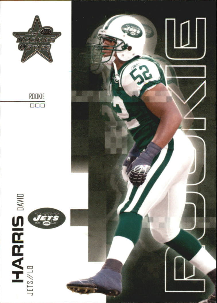2007 Leaf Rookies and Stars #135 David Harris RC