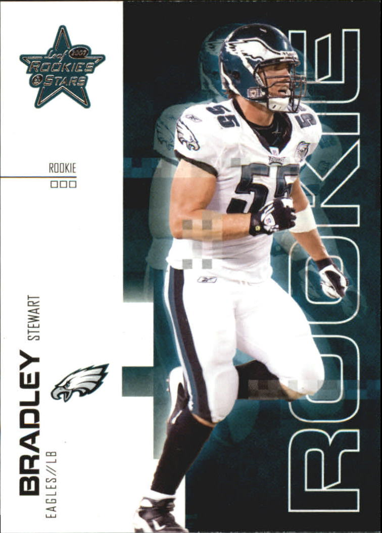 2007 Leaf Rookies and Stars #180 Stewart Bradley RC