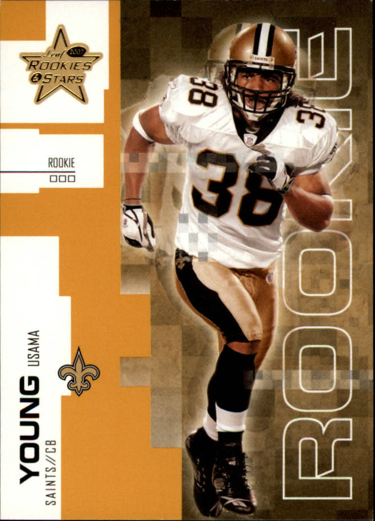2007 Leaf Rookies and Stars Gold Retail #117 Usama Young