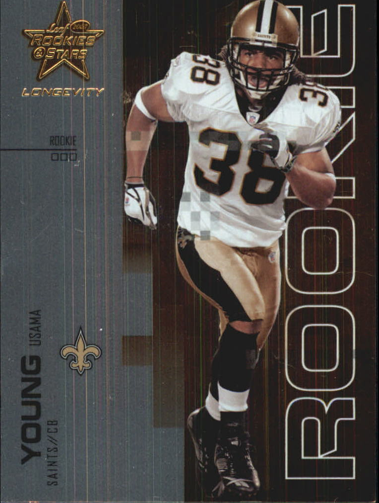 2007 Leaf Rookies and Stars Longevity #117 Usama Young RC
