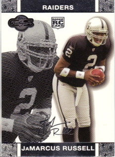 2007 Topps Co-Signers #51 JaMarcus Russell RC