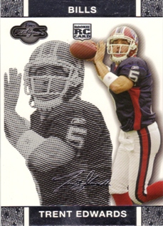 2007 Topps Co-Signers #53 Trent Edwards RC