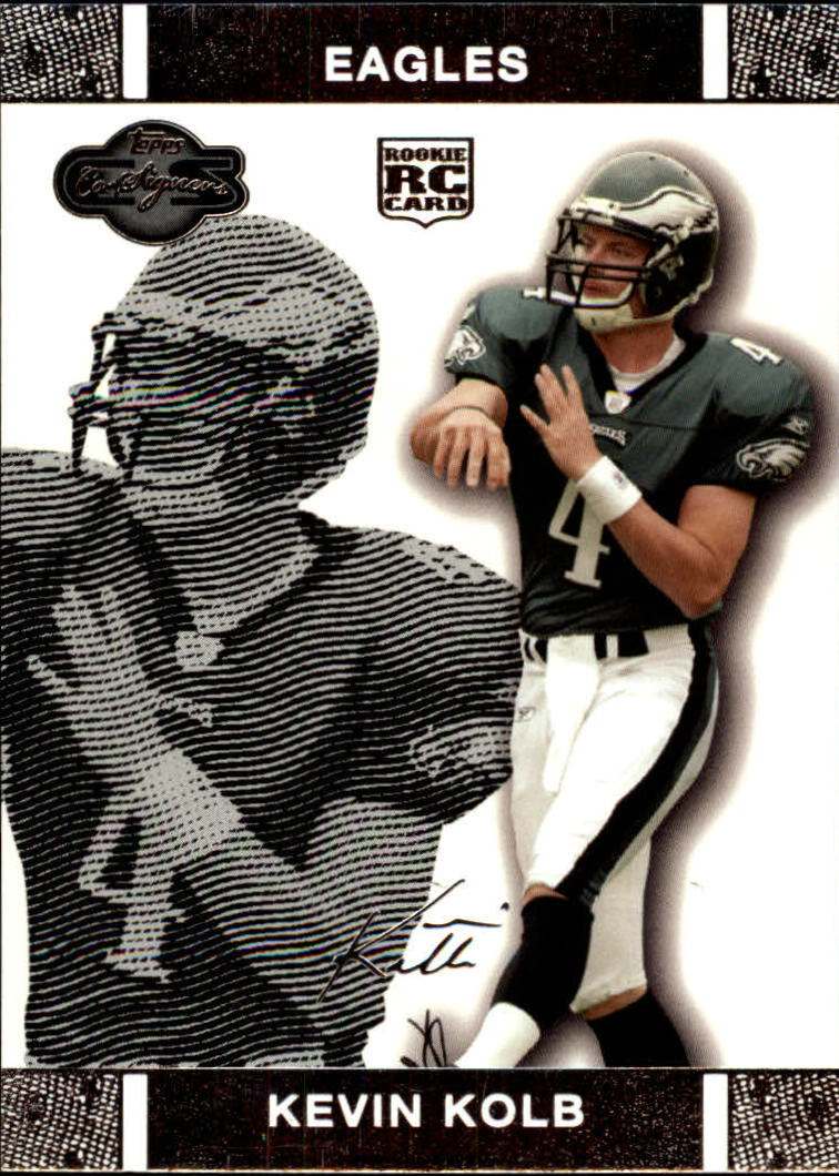 2007 Topps Co-Signers #58 Kevin Kolb RC