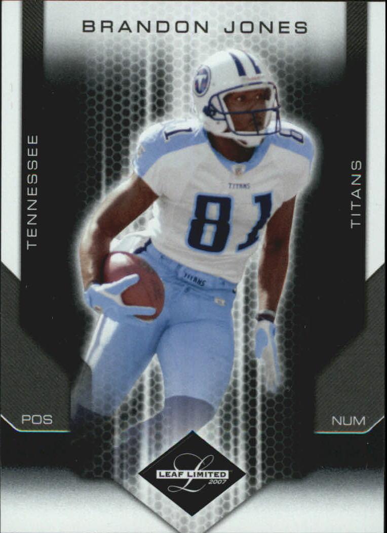 2007 Leaf Limited #96 Brandon Jones