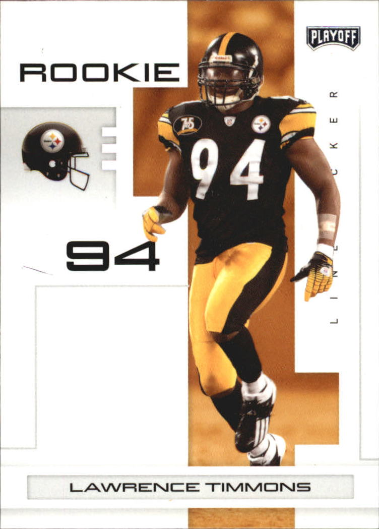 2007 Playoff NFL Playoffs #141 Lawrence Timmons RC
