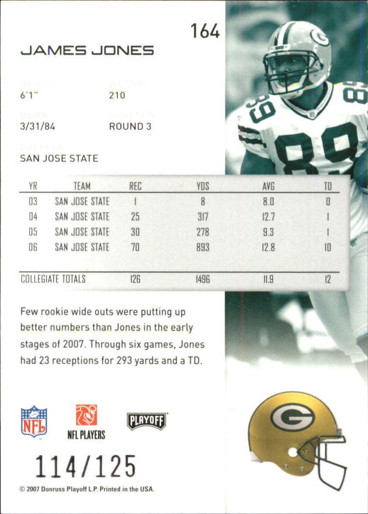2007-Playoff-NFL-playoffs-Rojo-Metalizado-De-Futbol-Tarjeta-Pick miniatura 329