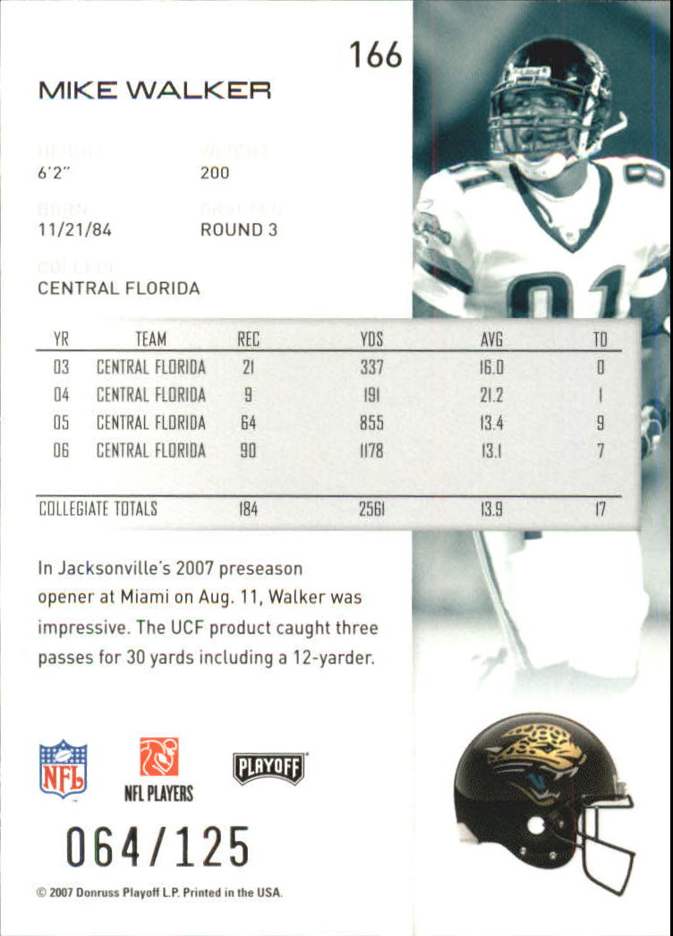 2007-Playoff-NFL-playoffs-Rojo-Metalizado-De-Futbol-Tarjeta-Pick miniatura 333