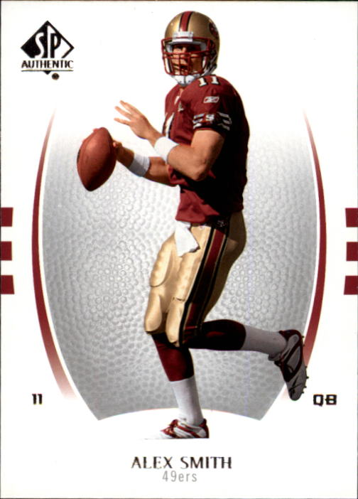 2007 SP Authentic #3 Alex Smith QB