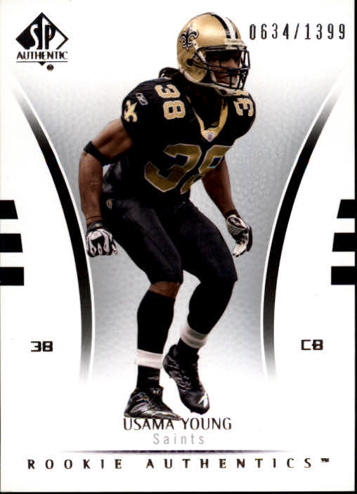 2007 SP Authentic #106 Usama Young RC