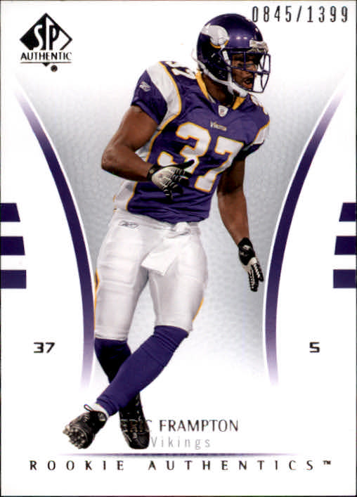 2007 SP Authentic #136 Eric Frampton RC