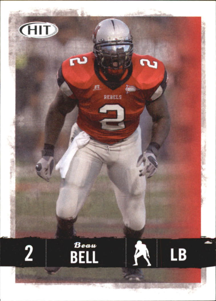2008 SAGE HIT #69 Beau Bell